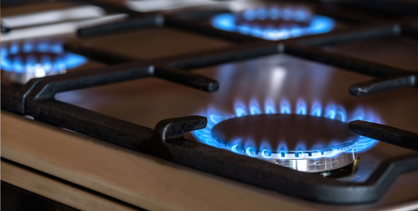 gas ring hob flame image